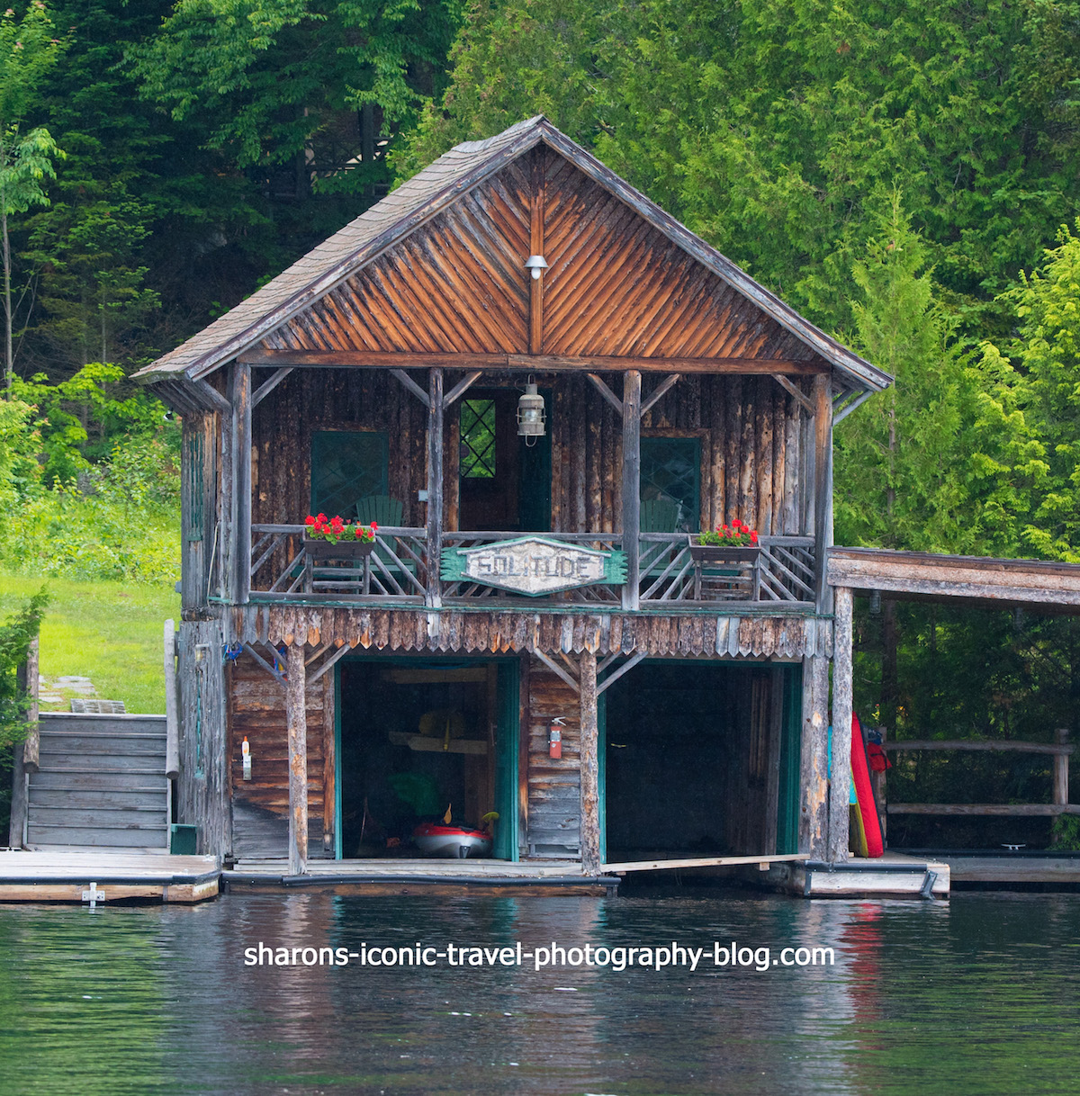 Adirondack Boathouses